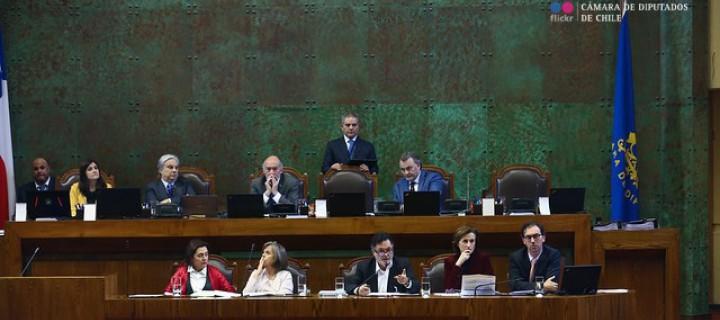 Fotografía Cámara de Diputados de Chile